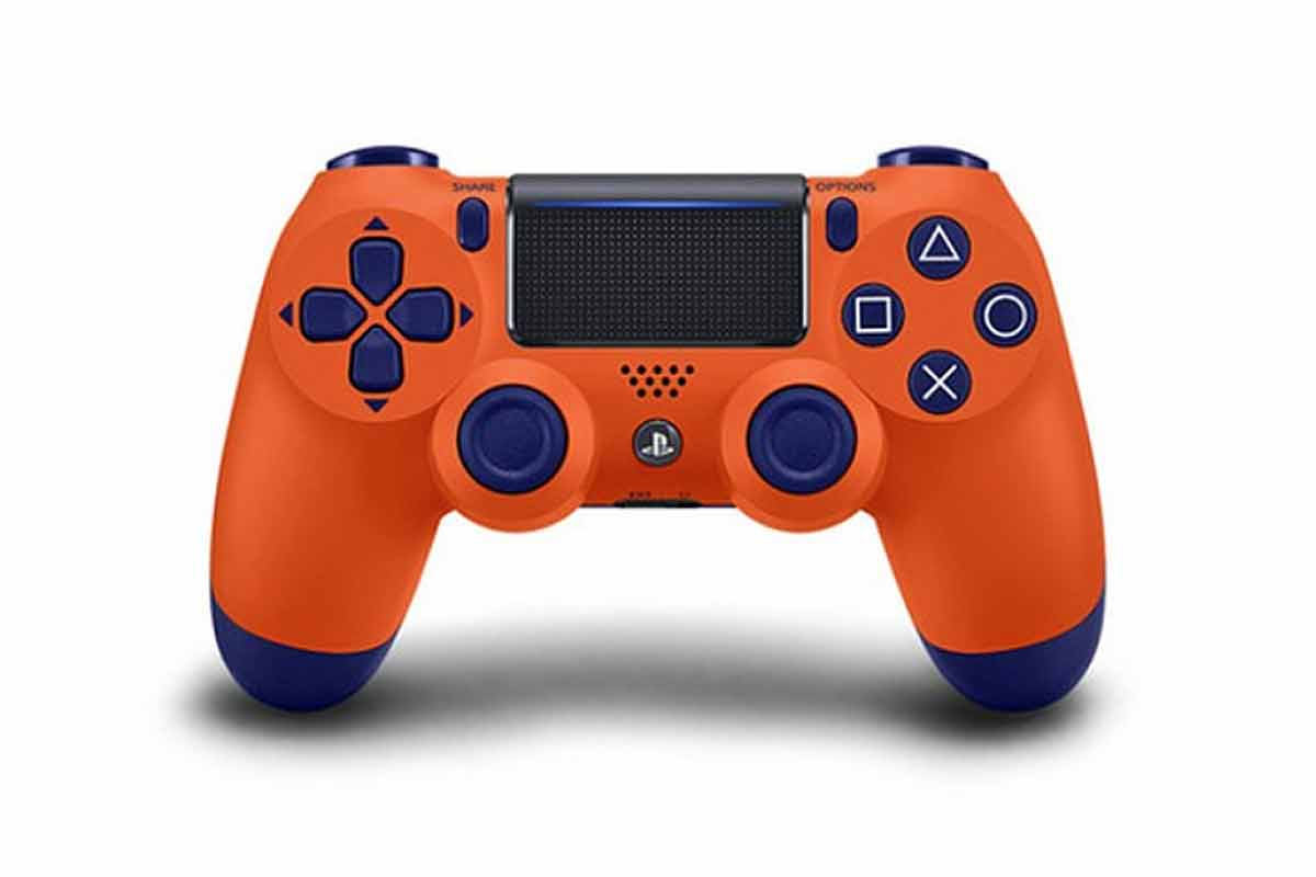 Oranžový GamePad PlayStation