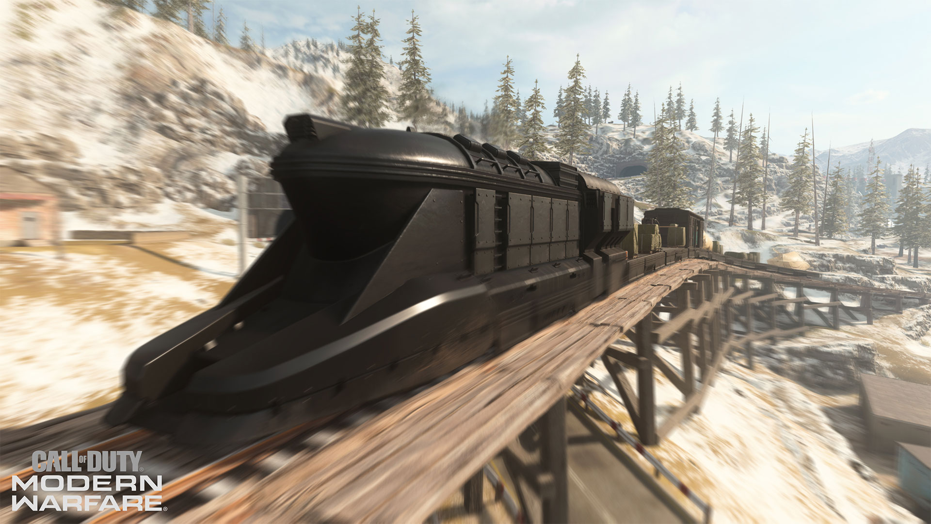 Vlak ve WarZone CALL OF DUTY