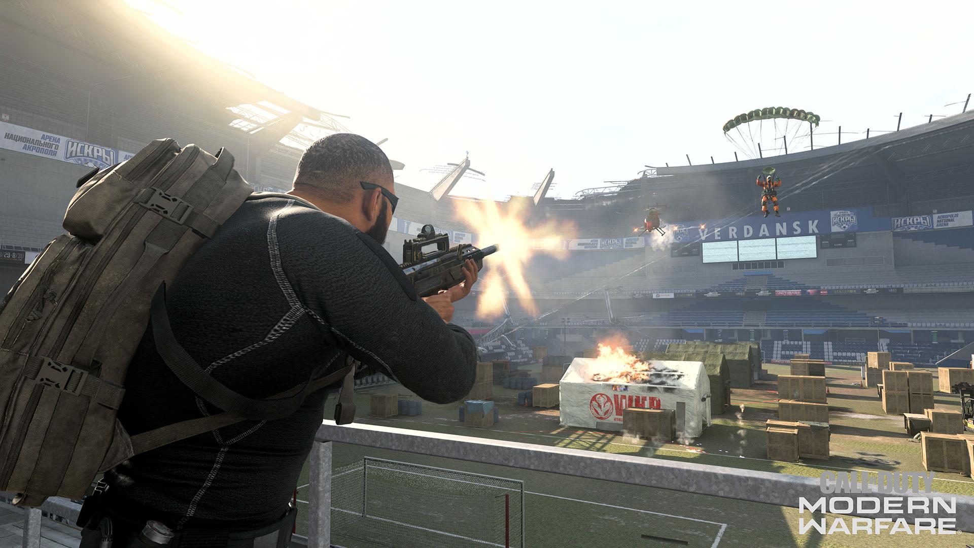 Warzone stadion