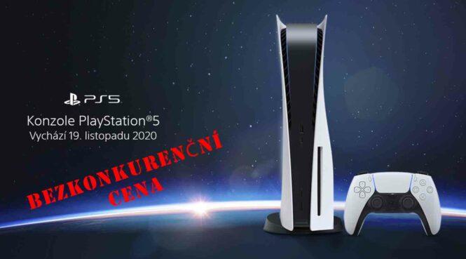 Prodej PlayStation 5 nejlevnější